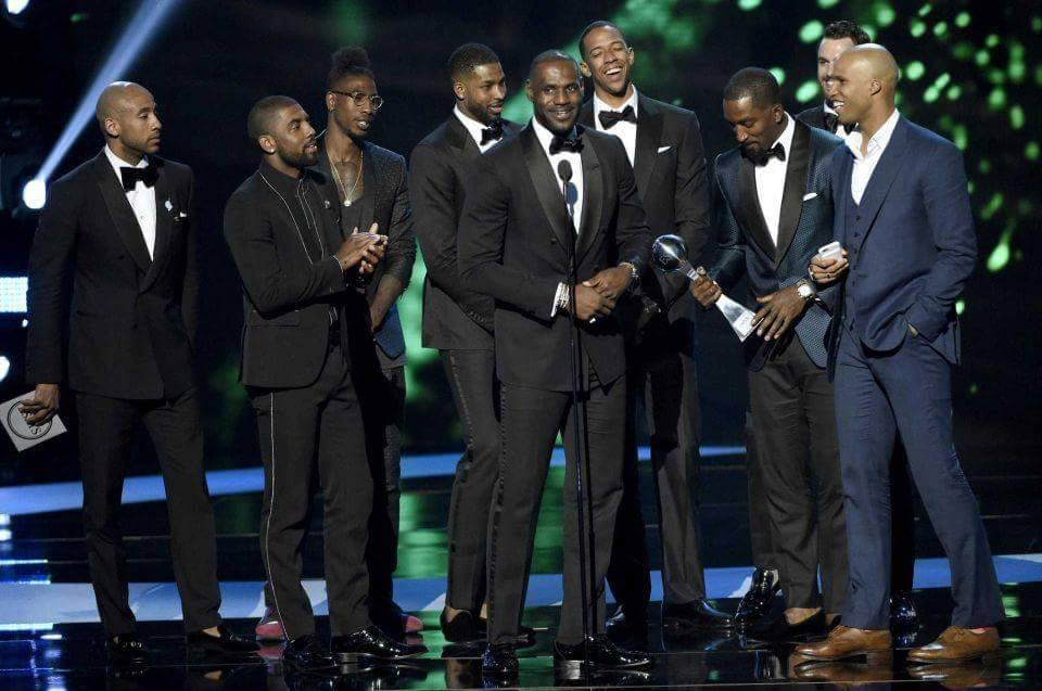 Cavs Win 7 ESPY Awards